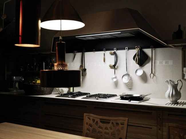 Wood kitchen ultra-modern Sine Tempore by Valcucine sleek design
