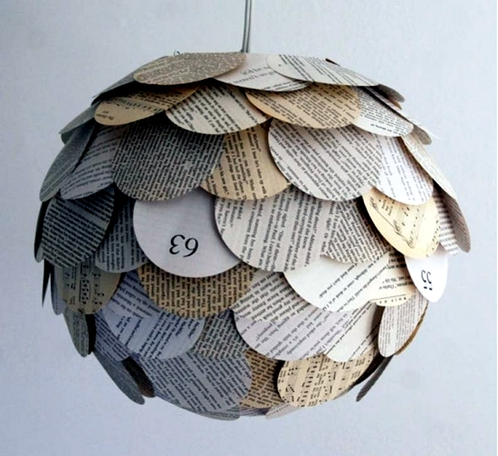 Fashion tinker lamp - new ideas with paper