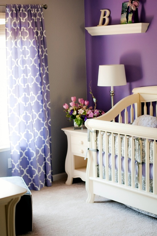 Soft Pastel And Warm Colors Nursery Decoration
