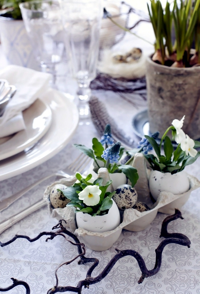 Simple Ideas for 19 uniquely decorated for Easter - Simple, but nice