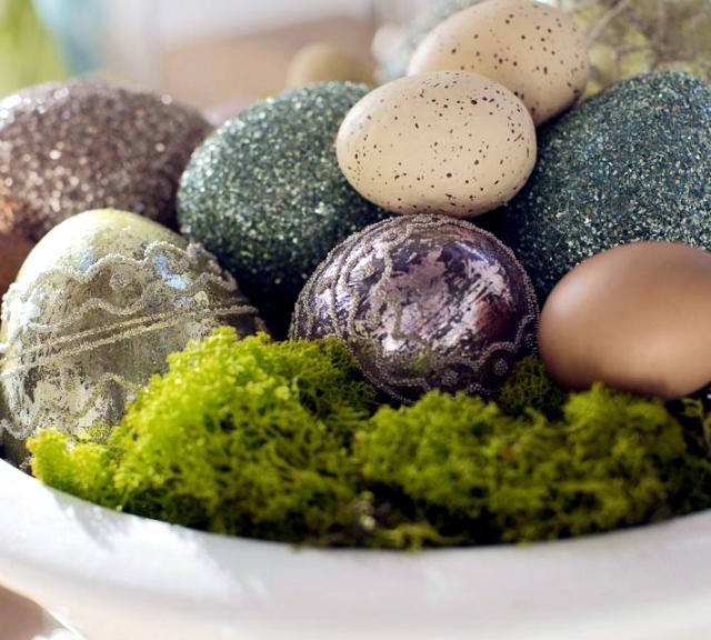 Easter festive table