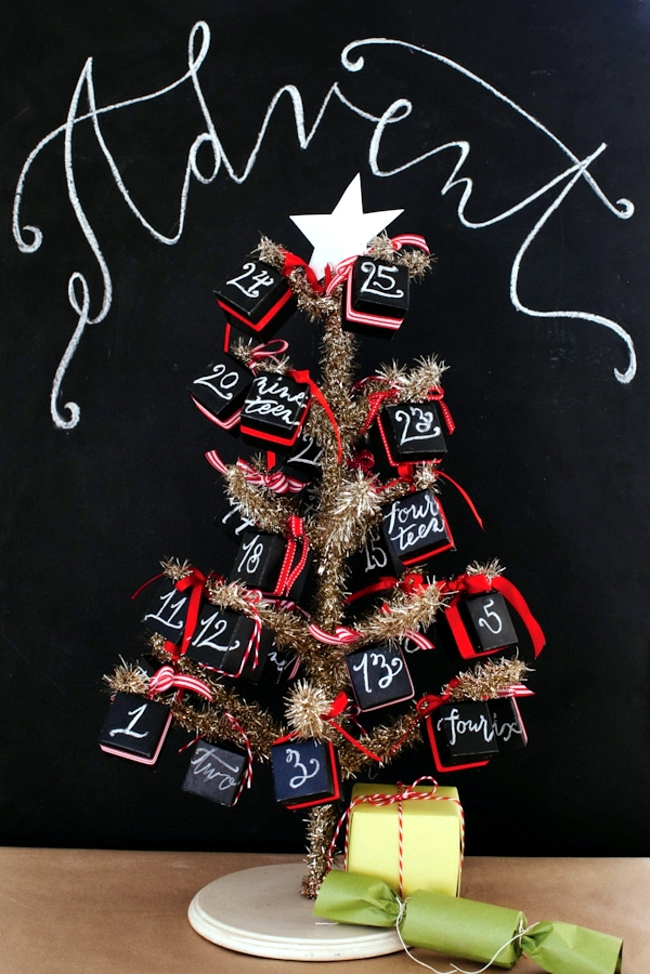 Crafts Advent and fill - 20 fantisievolle Ideas