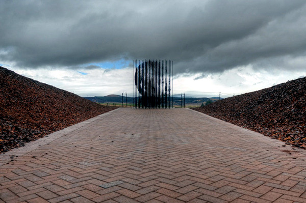 New Nelson Mandela Memorial - In the place where he was imprisoned