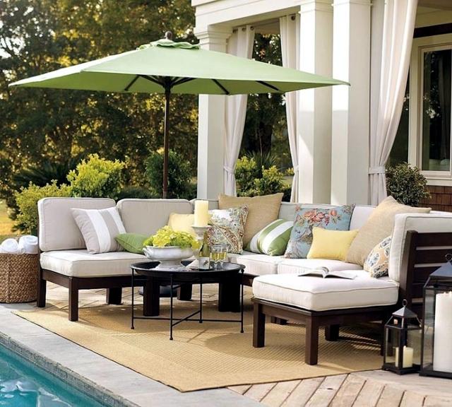 Design garden table - 18 ideas for garden design
