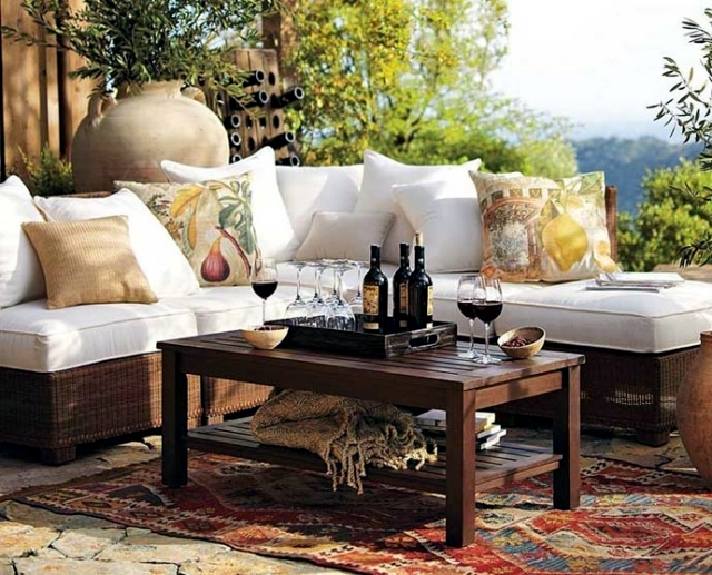 Design garden table - 18 ideas for garden design