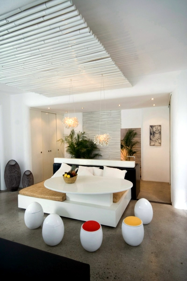 Luxury modern house white exotic world of mouth