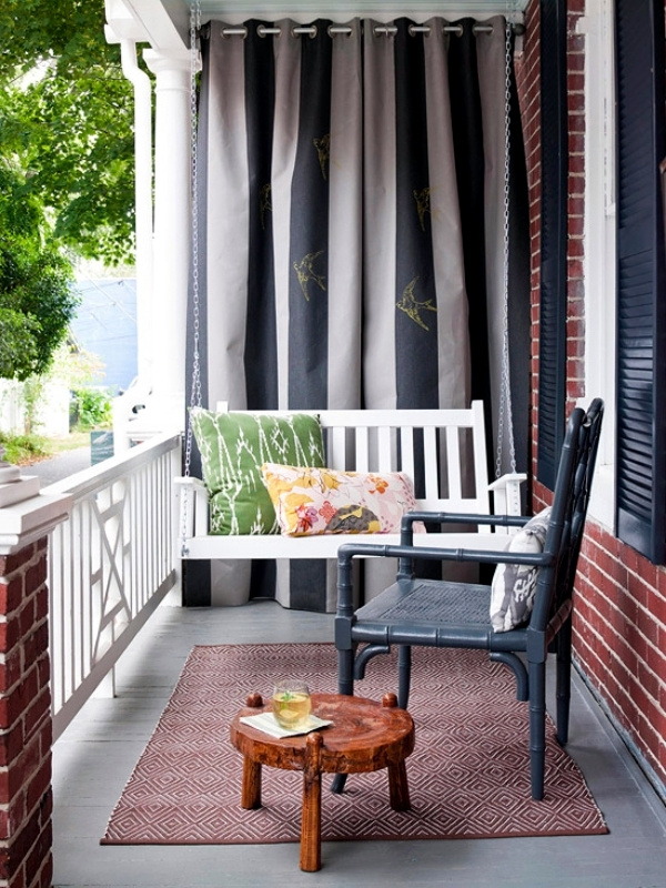 Ideas and tips for designing the bucolic terrace