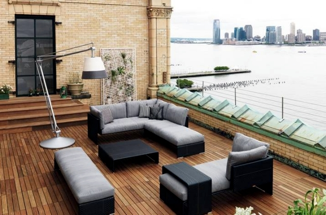 Interior design solutions Dedon - comfortable design roof terrace