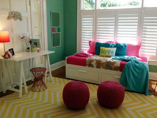 Setting the Girls Youth room - 55 ideas and tips