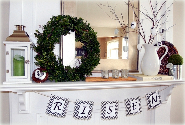 Rabbits fireside - 20 ideas that provide mood of spring!