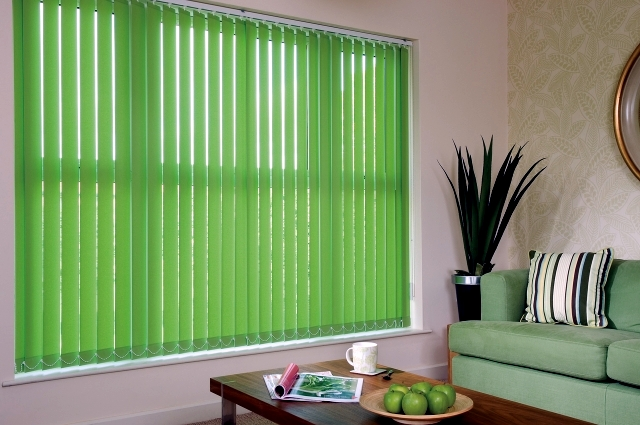 Blinds, pleated blinds, venetian blinds, as an alternative to the standard procedure