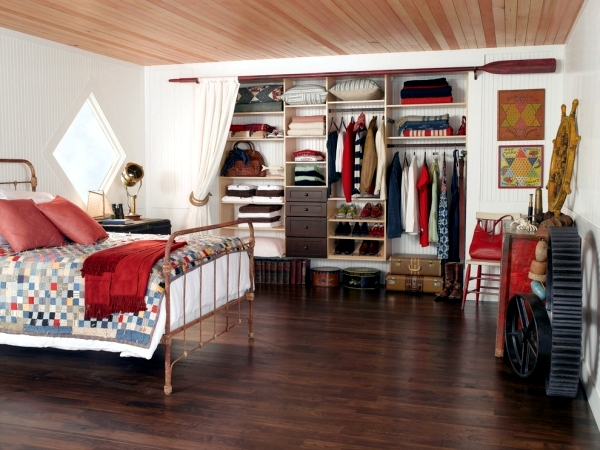 How To Disguise An Open Closet In A Room Interior Design Ideas Ofdesign