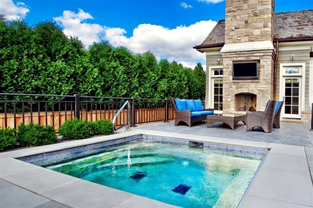 20 ideas for the garden pool – give the house a feel good atmosphere ...