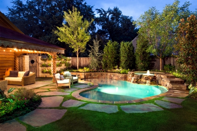 20 ideas for the garden pool give each house an atmosphere