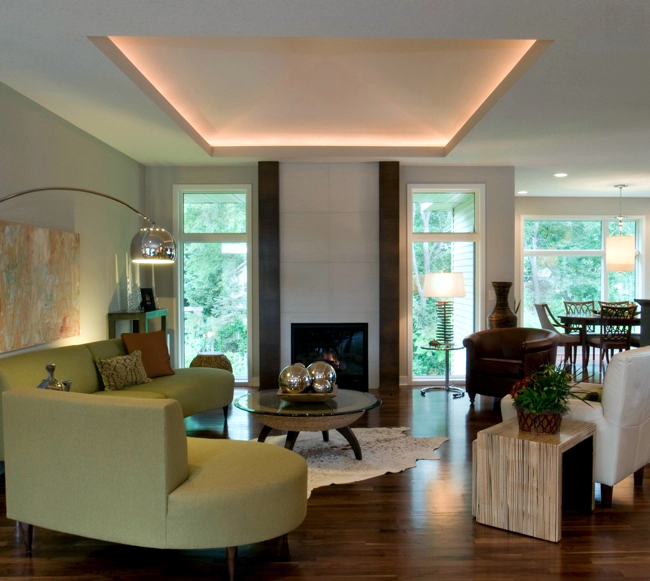 15 Beautiful Living Room Lighting Ideas: 33 Ideas For Beautiful Ceiling And LED Lighting