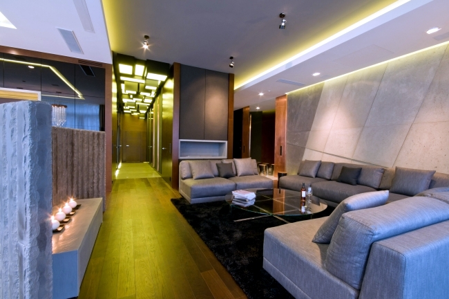 33 ideas for ceiling lighting and indirect effects of led