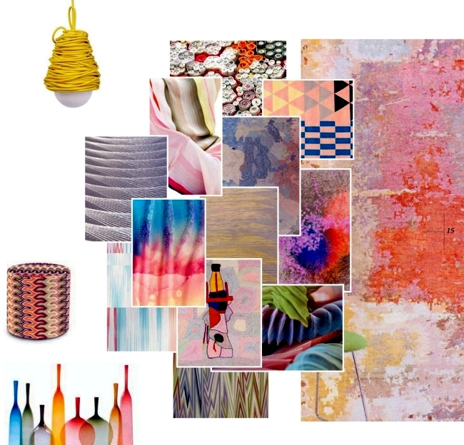 Trends 2015 Home Textiles - decorate the house with materials