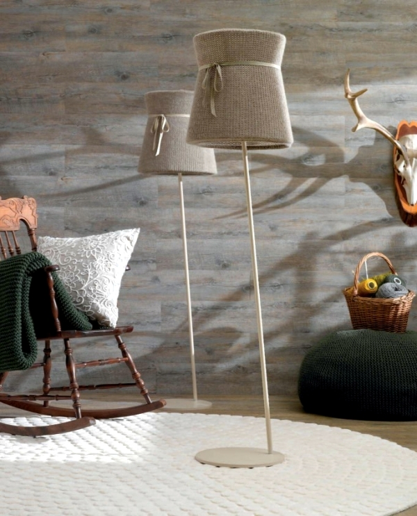 Tighten warm in winter - elegant lamp with shadow weave