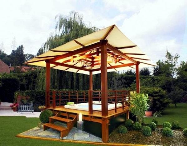Genial Modern Garden Designs Pergola Increase The Visual Value Of The Garden