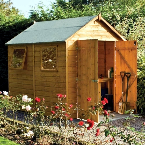 contemporary garden sheds x in design the material is and what still needs to be observed wooden - Garden Sheds 6 X 5