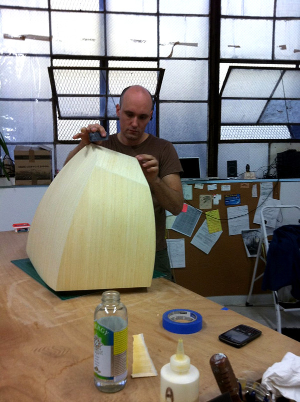 Modernism with natural materials - Design pendant lamp Constantin