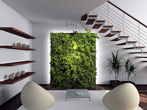 The interior garden oasis of comfort - As the greening apartment?