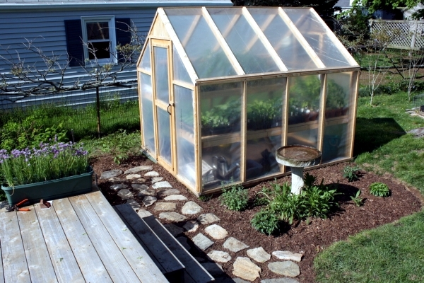 Season With A Stable And Storm Proof Greenhouse Gardening Can Be Extended  From Spring To Late Autumn. Building A Greenhouse Is The Desire Of Every  Amateur ...