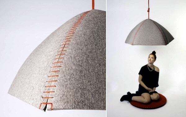 Furniture design - creative idea for a brief retreat from everyday life