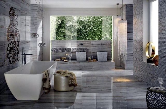 wall and floor tiles modern and luxurious facilities to assess their