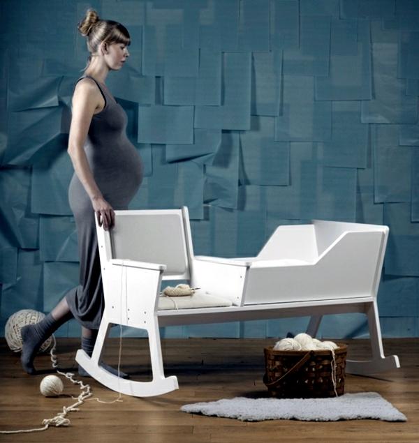 Configure The Nursery Rocking Lulls Baby To Sleep