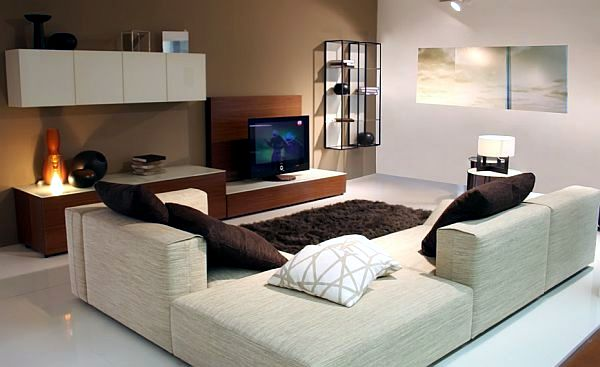 flat living room interior design