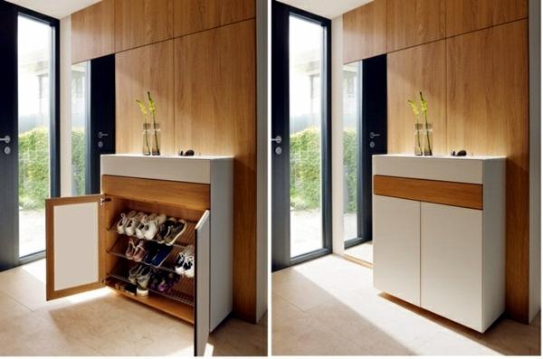Corridor Modern Design Offering Wood Furniture Storage