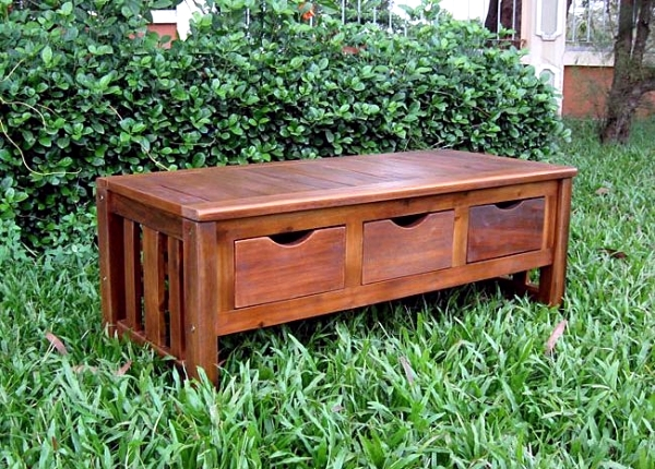 Classic garden bench wooden garden and the tendency of the Somme, 15 Cool Designs