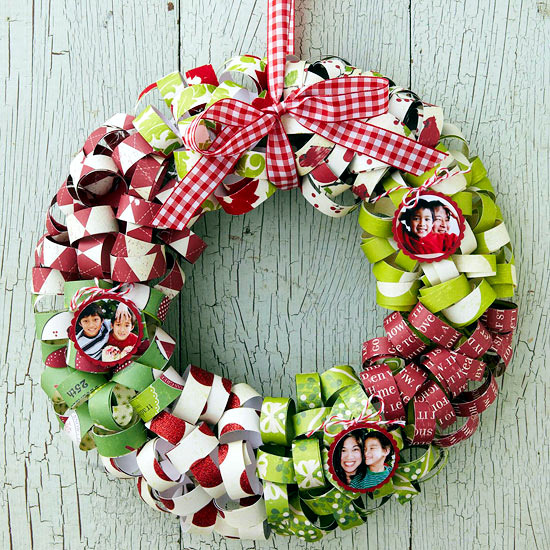 Craft Christmas Wreath 25 Inspiring Ideas To Make Your