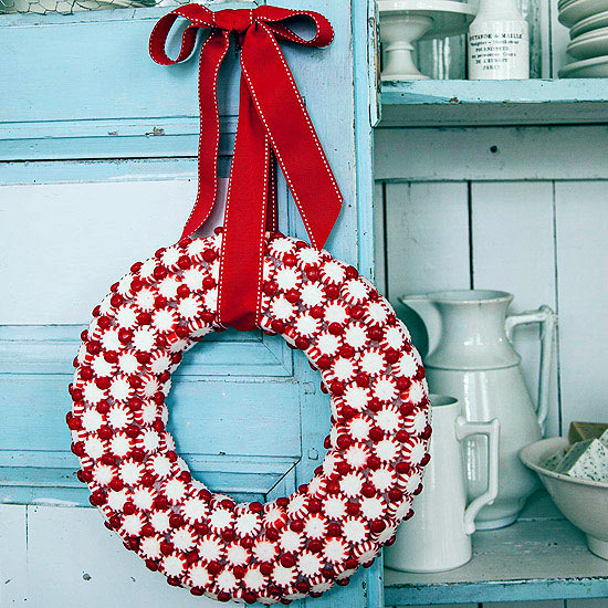 Craft Christmas wreath – 25 inspiring ideas to make your own ...