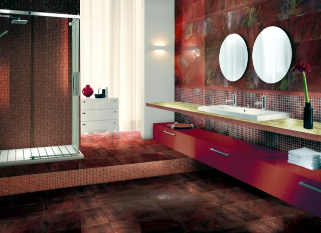 mosaic pattern for bathing - 25 models with an Italian twist