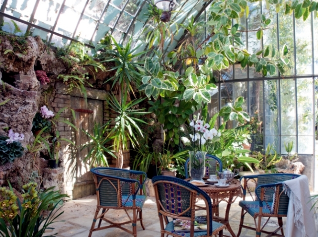 Caring for plants in the conservatory and 17 design ideas