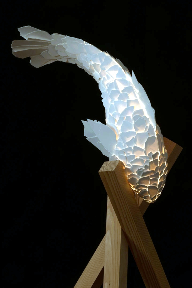 Contemporary Table Lamp In The Shape Of A Fish Frank