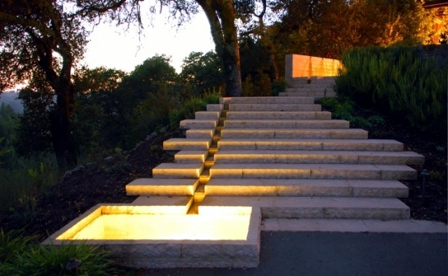 Stairs In The Garden Lay A Decorative Item Or Need