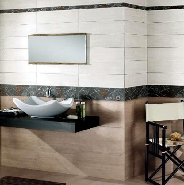 Tiles in wood design by Ariana - Ideas for the bathroom, living room and kitchen
