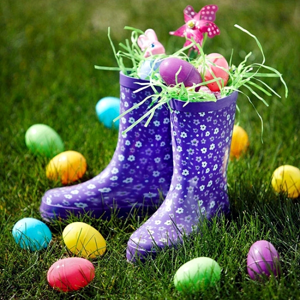 Outdoor Easter decorations – 27 ideas for the garden and home ...