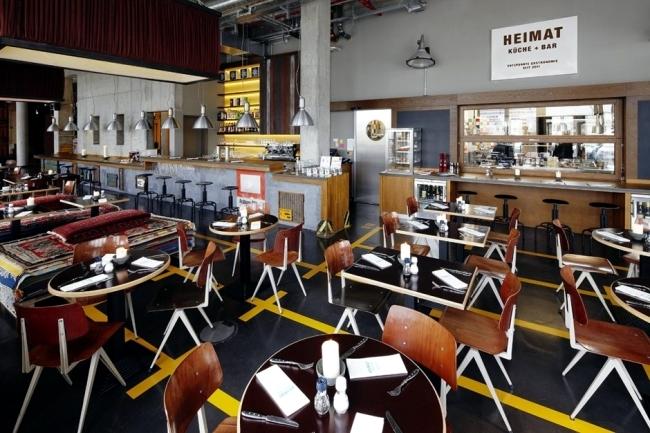 25hours Hotel Hamburg - Hafen atmosphere dominates the interior design