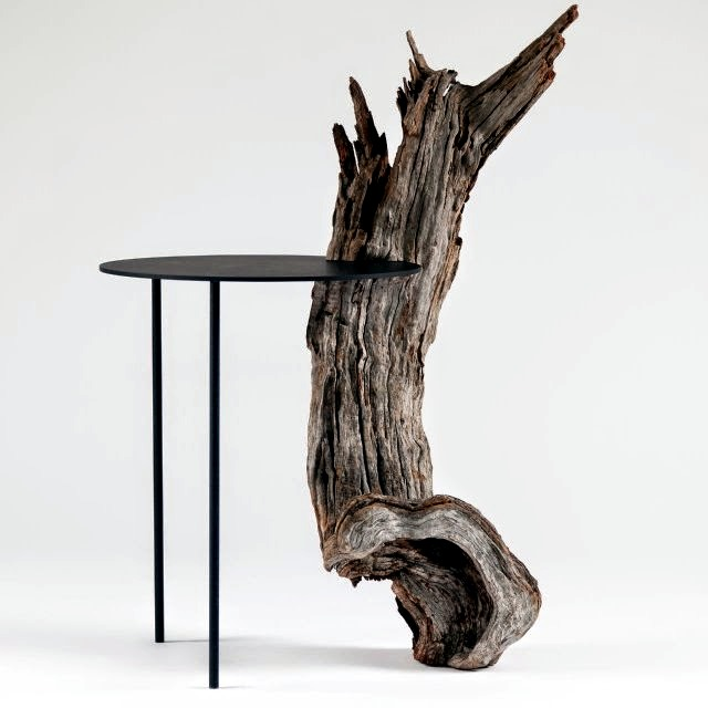 Design of wooden furniture Leron Almond Tree Design table Pierre