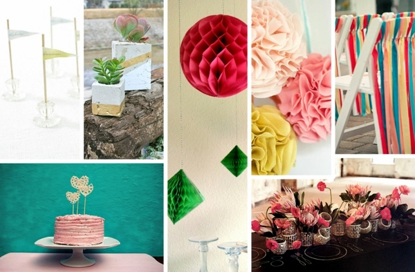 15 Decorating Ideas To Make Your Own Wedding Flowers Garlands And Table Deco