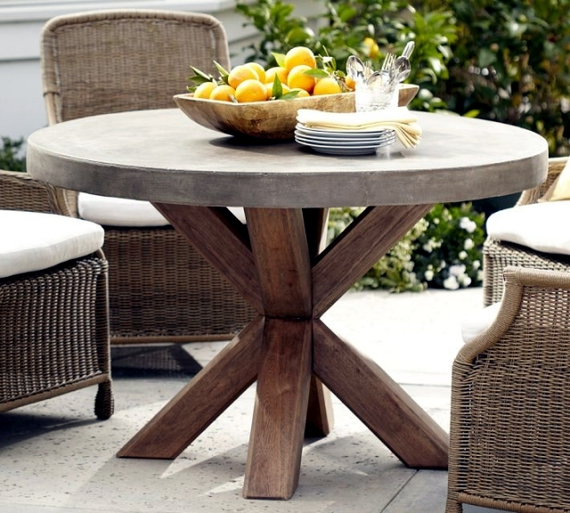 Round Wooden Table – Classic Furniture Anywhere | Interior Design Ideas - Ofdesign