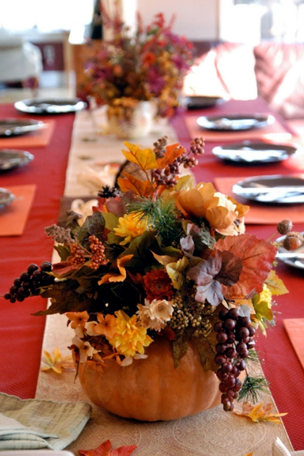 20 great ideas for autumn decoration and wonderful arrangements for home