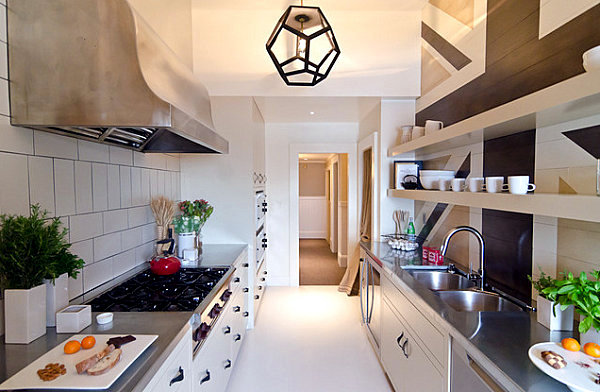 Ideas for decorating the kitchen that make the largest room