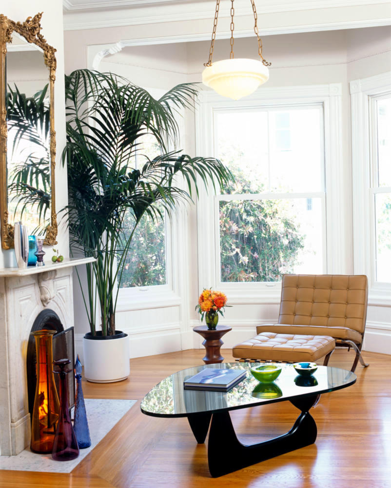 Coffee Table by Isamu Noguchi in bright living room | Interior ...