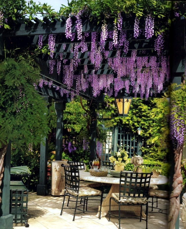 40 Ideas For Pergola In The Garden Good Sun Protection And Privacy Wood Interior Design Ideas Ofdesign