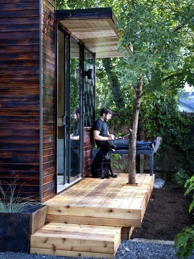 The Construction Of The Wooden House Garden 3 Examples